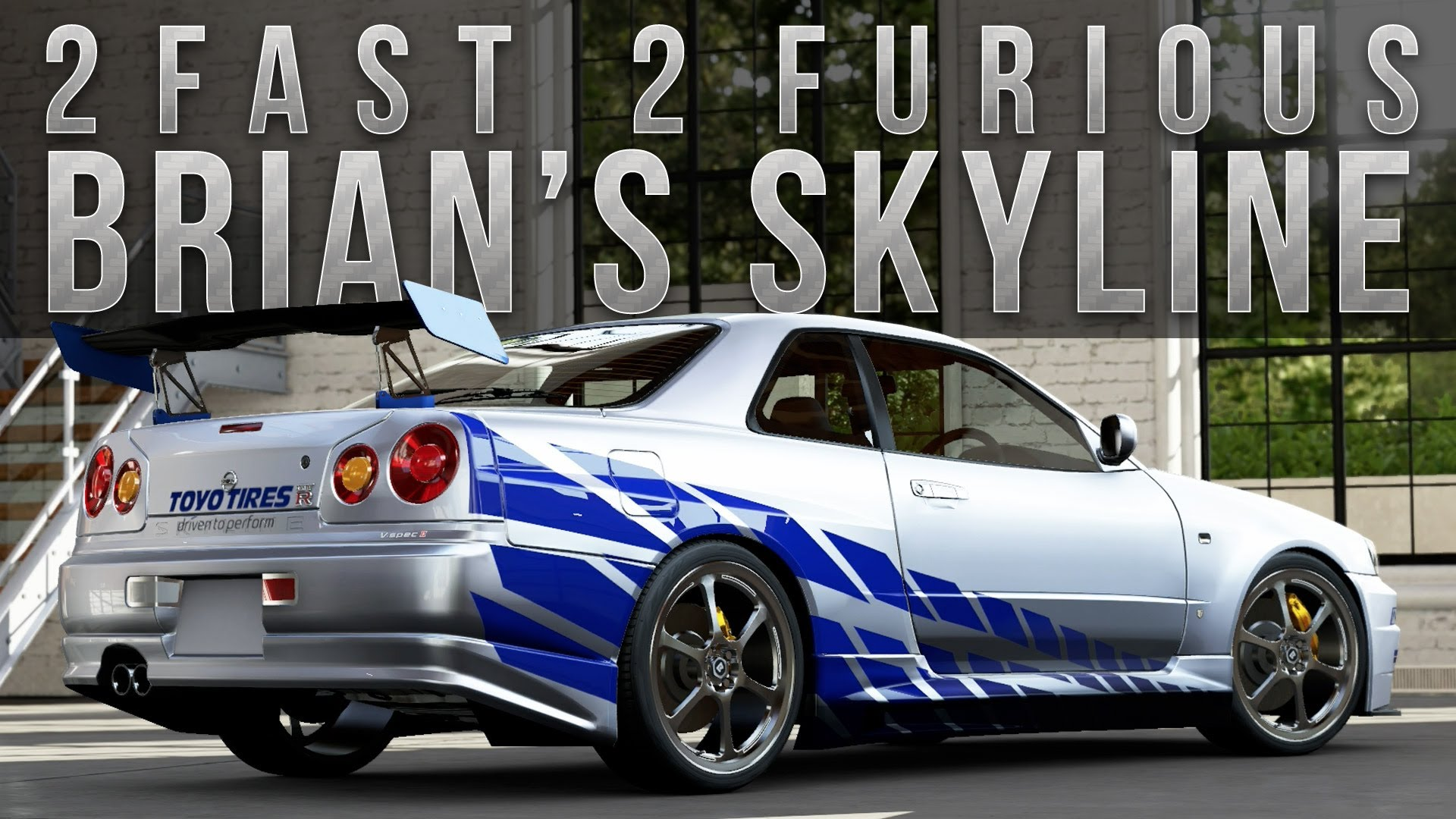 nissan skyline fast and furious 6. 2 fast furious brians skyline r34 nissan and 6