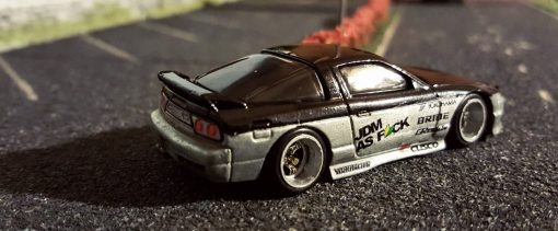 custom hot wheels 180sx with my custom hotwheels decals