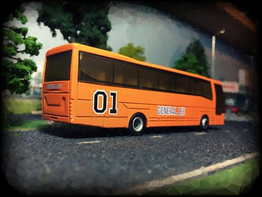 dukes of hazzard general lee bus hot wheels decals