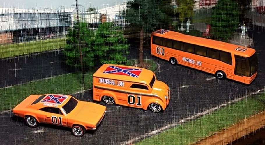 dukes of hazzard general lee hot wheels decals
