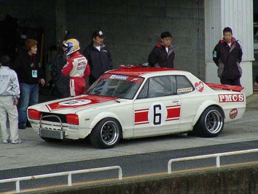 hakosuka gtr hot wheels decals inspired by Jun Imai