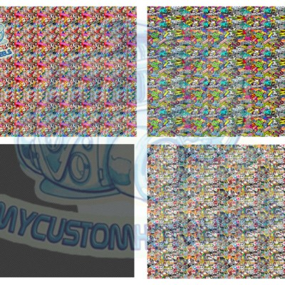 stickerbomb decals for hot wheels and diecast cars