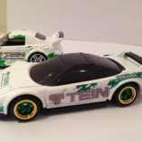 Tein hot wheels racing decals on Honda NSX 1