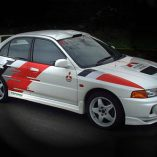 evo 4 rally with decals