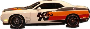 k and n racing hot wheels decals