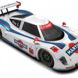 martini racing decals on bmw lemans