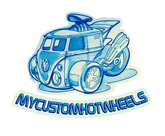 My Custom Hot Wheels Decals