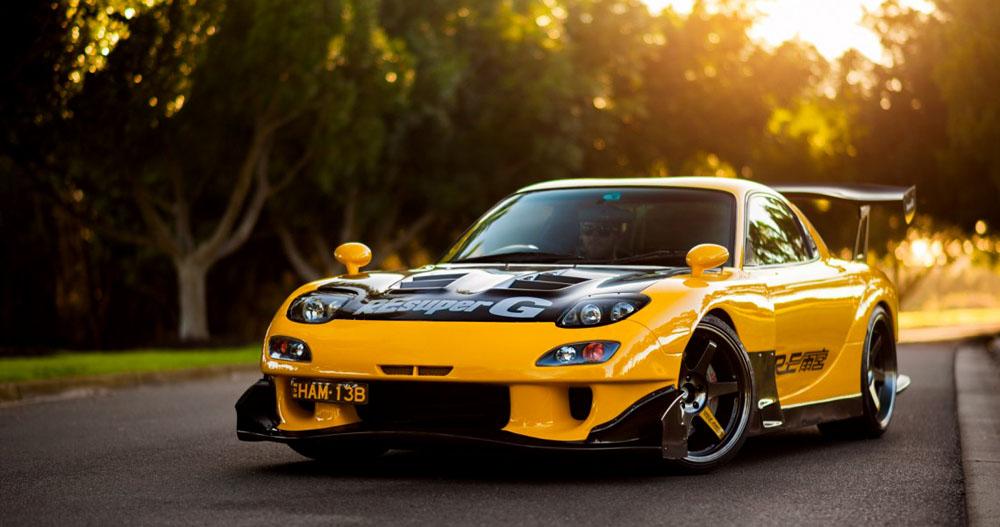RE Amemiya Mazda Racing Decals   Custom Hotwheels & Model Cars