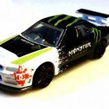 Monster Energy R34 Hotwheels custom by Haris Hassan