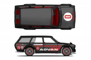 advan decals to match Hot Wheels Japan Historics Datsun 510