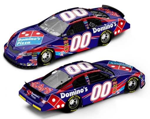 Macdonalds and Domino Pizza Waterslide Decals for Hot Wheels Diecast Cars