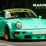 RWB Porsche Racing Decals for diecast model cars