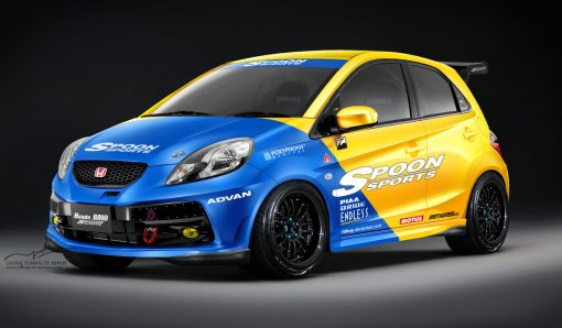 honda spoon racing decals fro model cars