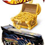 hotwheels and treasure hunt logos in waterslide decals - make your own super treasure hunt!