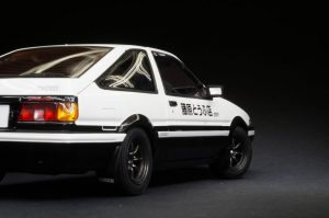Initial-D AE86 Redsuns racing waterslide racing decals for model cars