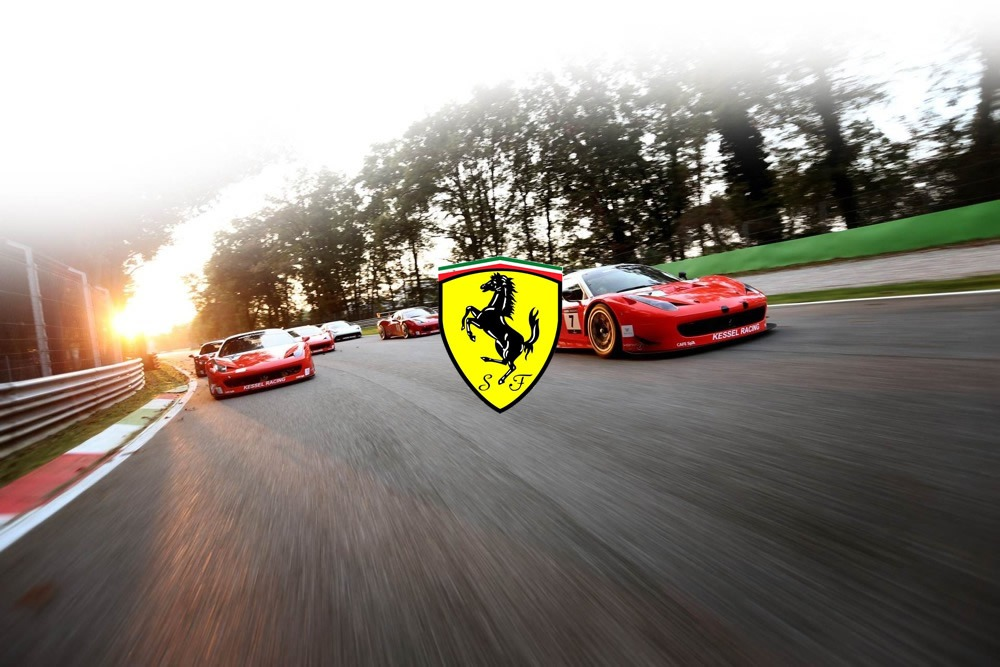 Ferrari Racing Decals for Diecast Model Cars