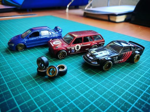 KREAuto custom 1/64 wheels for hot wheels diecast cars
