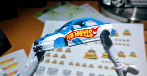 hot wheels convention car decal pack