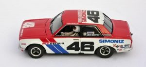 Diecast Datsun 510 wearing BRE Racing Decals