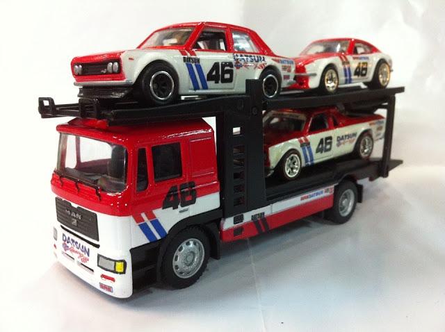 BRE Racing Decals on Custom Hot Wheels by Mass Putra Customs