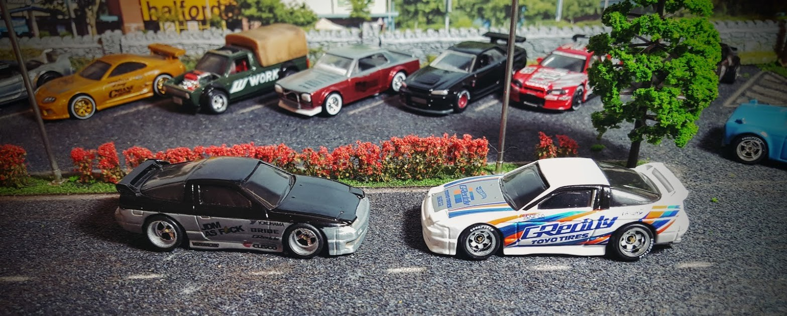 1/64 scale jdm hot wheels decals from my custom hotwheels