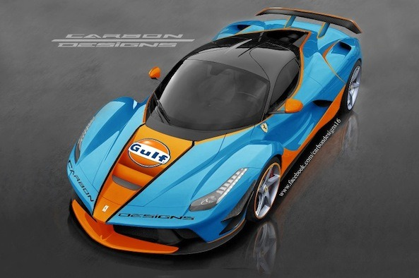 Gulf Racing Decals in 1:64 scale for Hot Wheels and Diecast cars