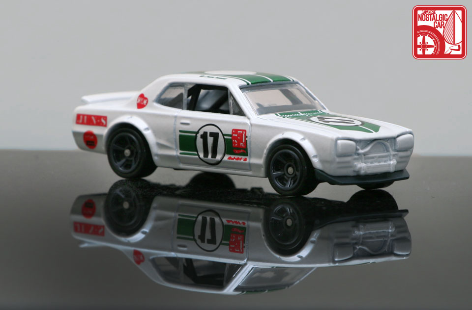 hakosuka gtr hot wheels decals inspired by Jun Imai