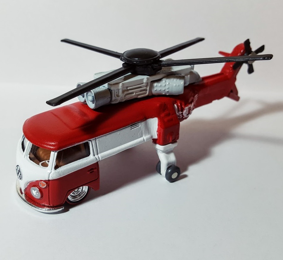 Custom Kool Kombi Kopter by Alex Whalley and My Custom Hotwheels