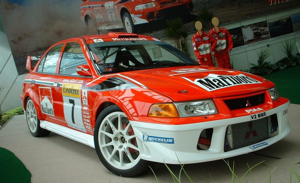 mitsubishi ralliart decals in 1/64 scale for hot wheels