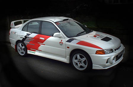 Mitsubishi ralliart pack 1