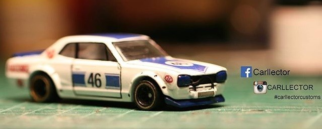 hakosuka Jun Imai inspired Hot Wheels Decals