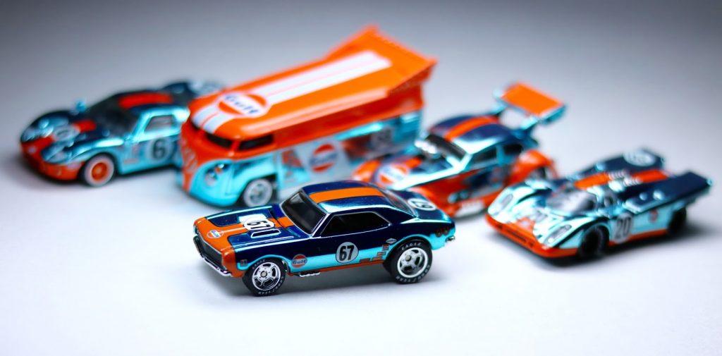 Gulf Racing Waterslide Decals | Custom Hotwheels & Model Cars