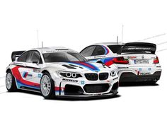 porsche and bmw martini racing decals