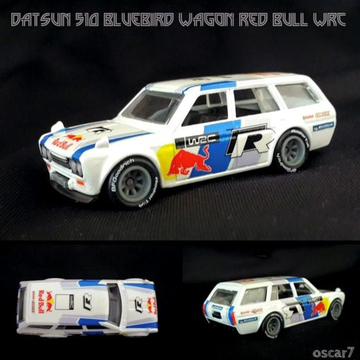 Datsun 510 Bluebird Wagon Red Bull WRC by Oscar Andi