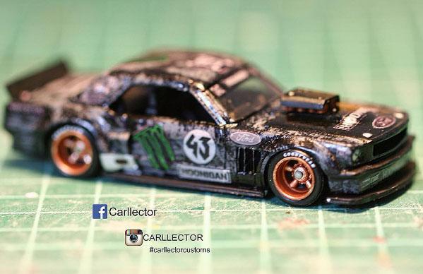 Monster Energy Ken Block Custom Hot Wheels by Carllector