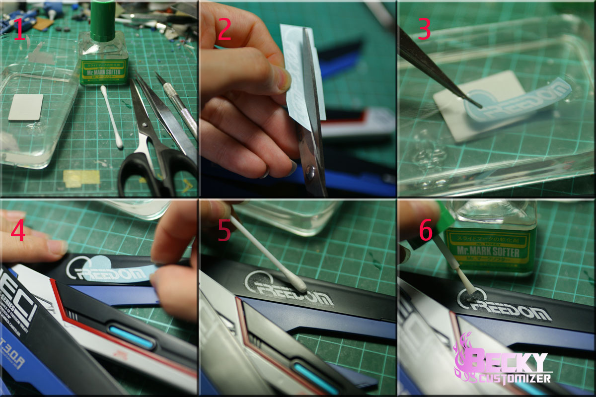 how to apply waterslide decals and custom car decals