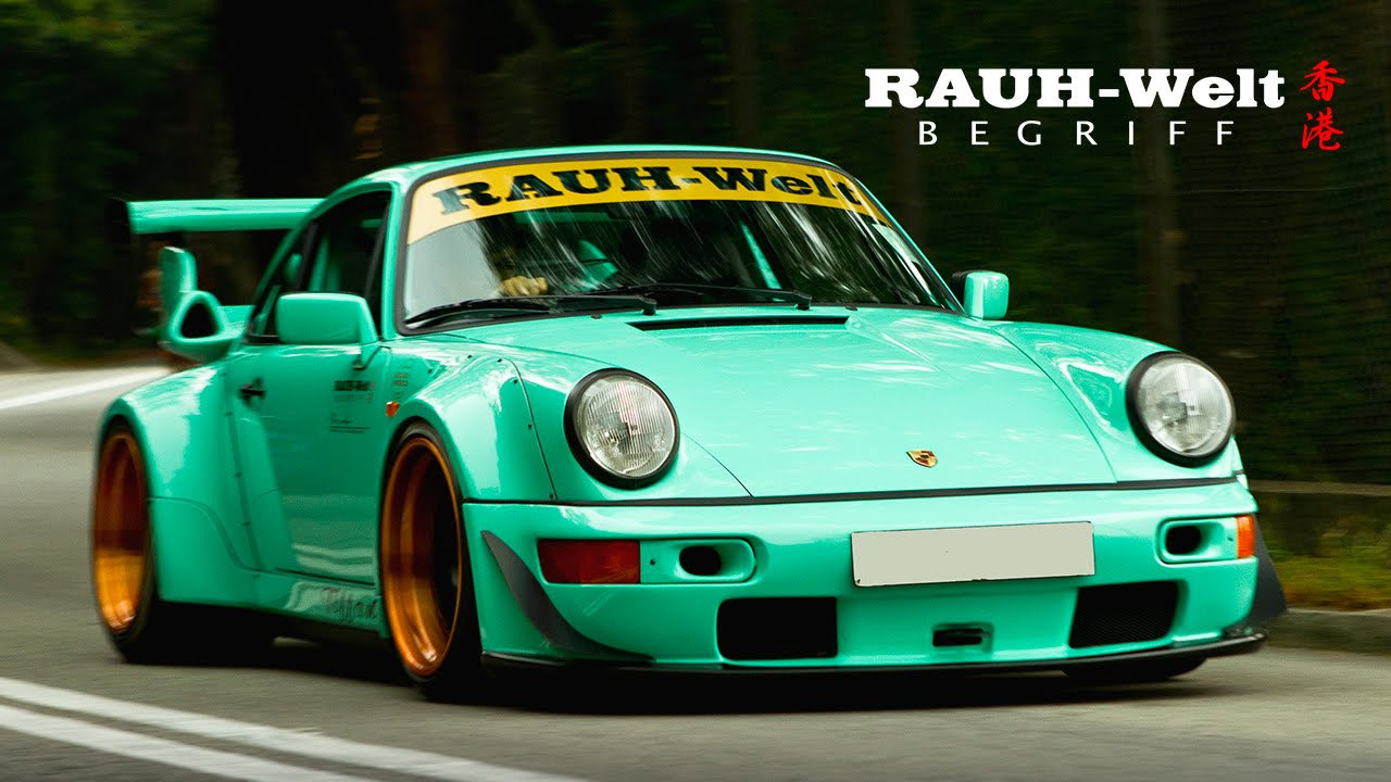 RWB Porsche Racing Decals for diecast model cars