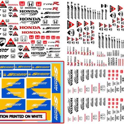 Spoon Racing decals for Hot Wheels
