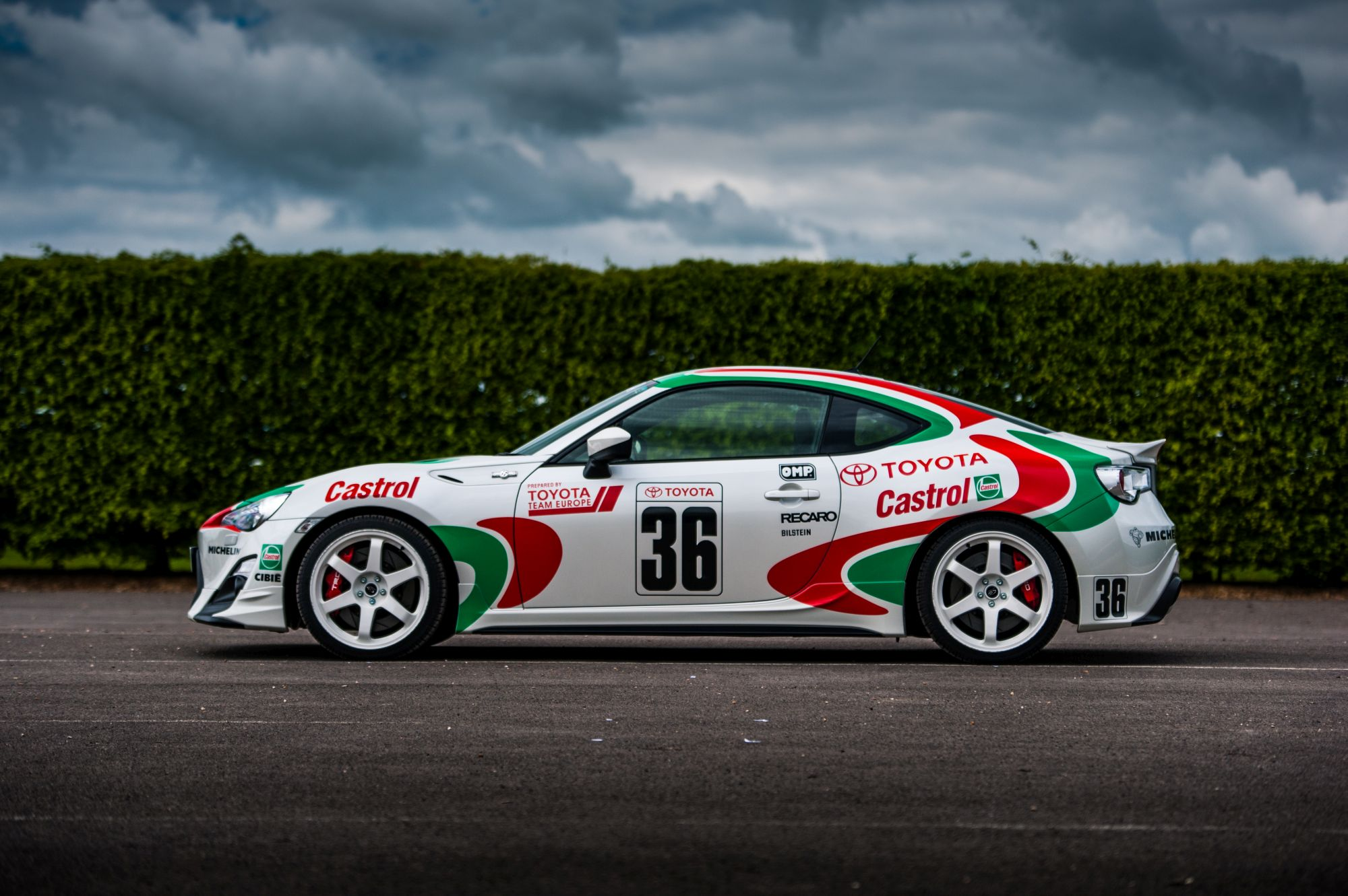 Martini alitalia castrol racing decals pack