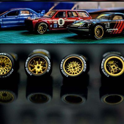 KREAuto custom 1/64 wheels for hot wheels diecast cars