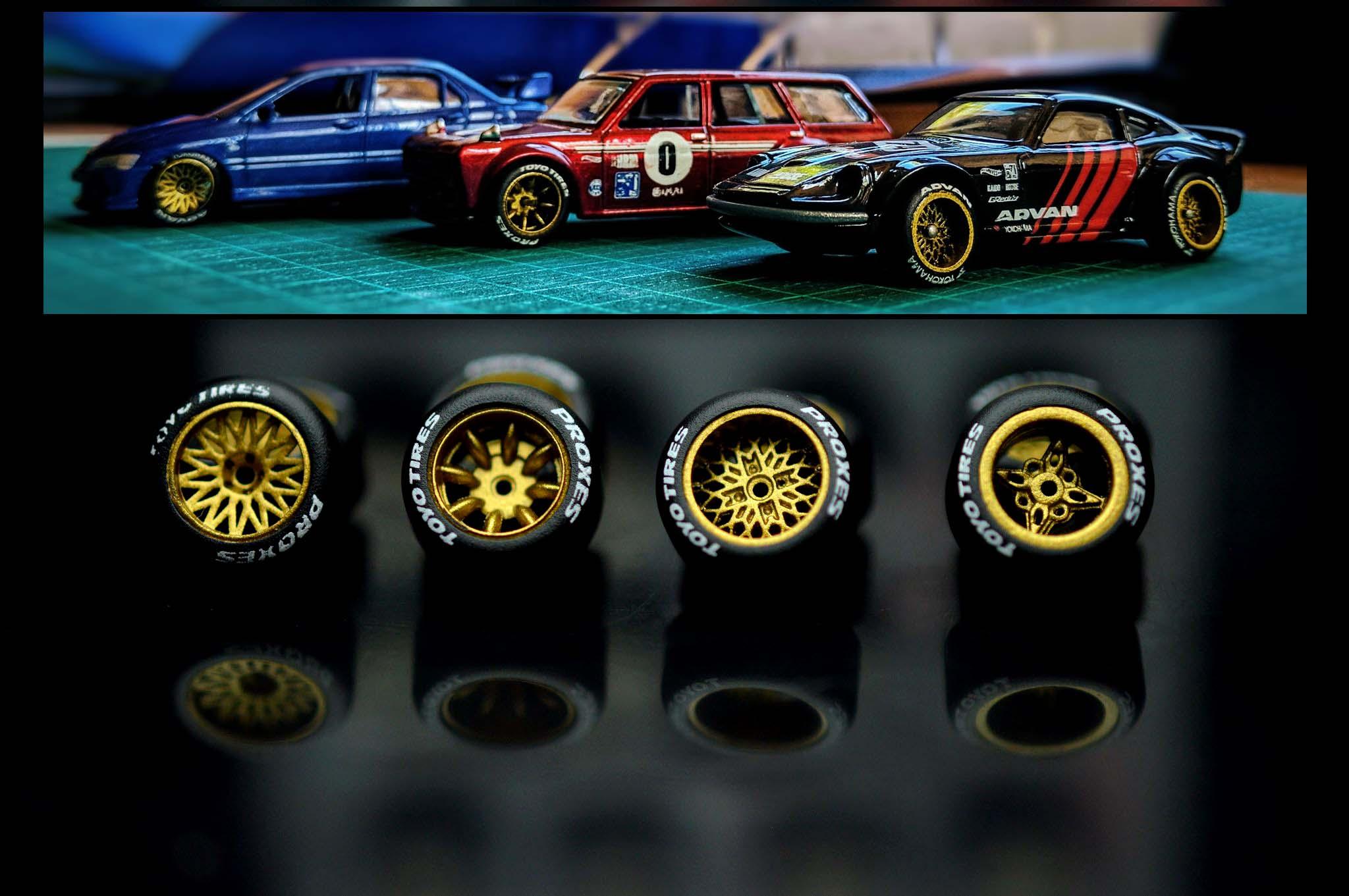 Kreauto 1 64 Scale Wheels Custom Hot Wheels And Model Cars