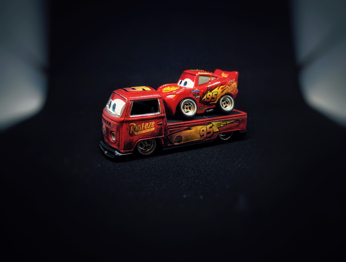 Custom Hot Wheels Decals >> Lightning McQueen 'Cars' Decals | Custom Hot Wheels & Model Cars