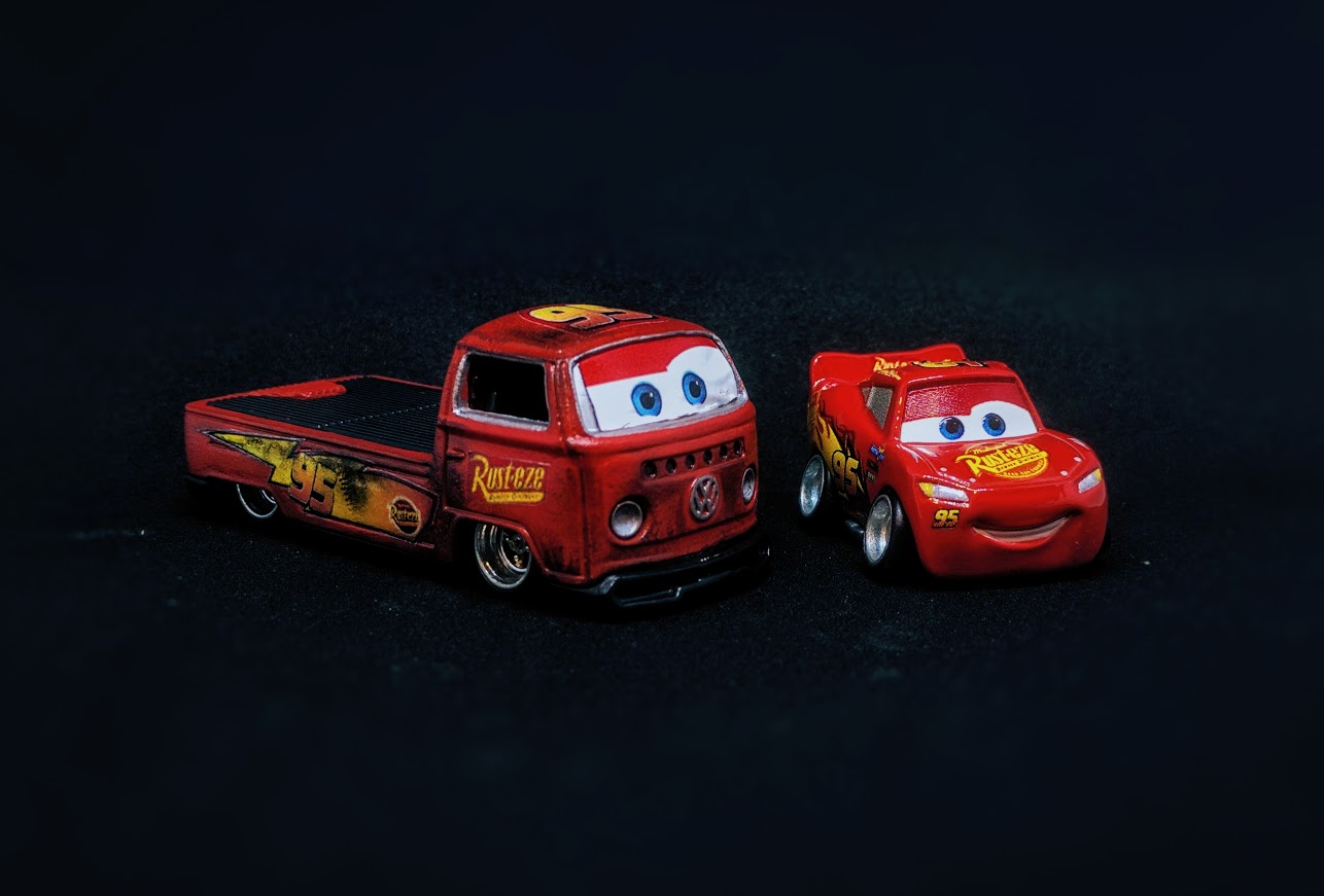 Lightning McQueen Decals for Hot Wheels and model Cars