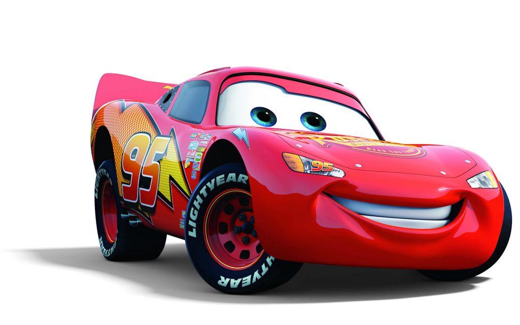 Lightning McQueen Disney Cars Decal Pack