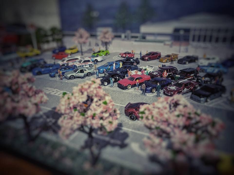figures diorama people  custom hot wheels model cars