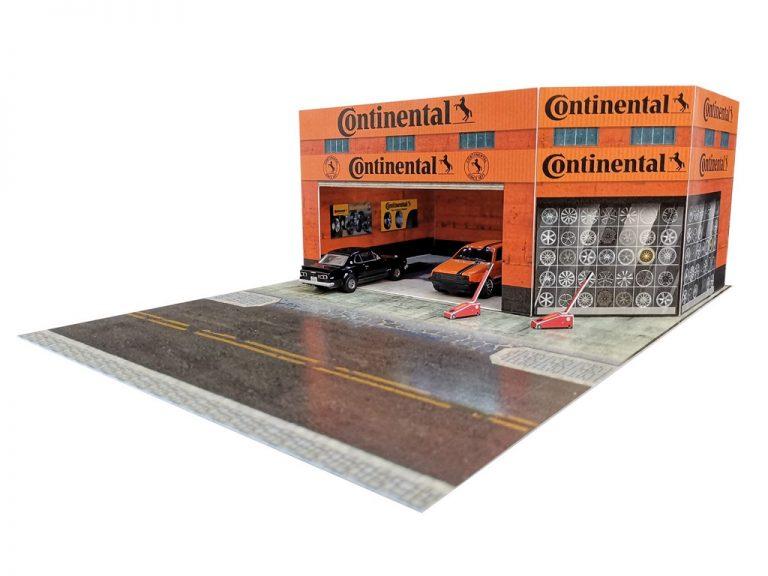 Continental Tyres Diorama Building