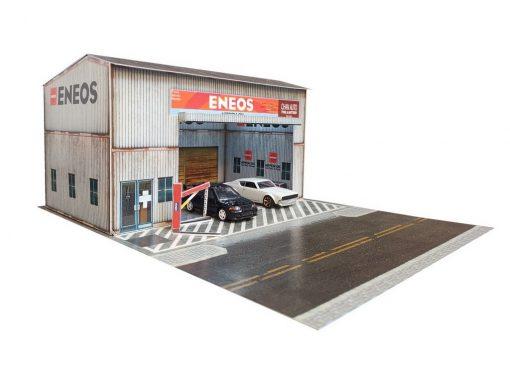 hotwheels garage diorama - ENEOS