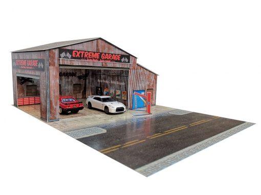 Extreme Garage Hotwheels diorama