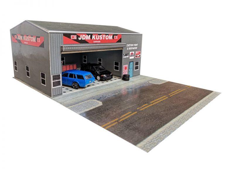 JDM Hotwheels garage diorama