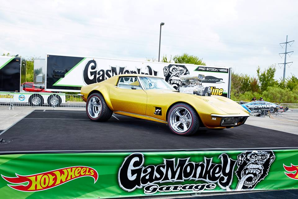 Gas Monkey Garage Decals for Hot Wheels Model Cars